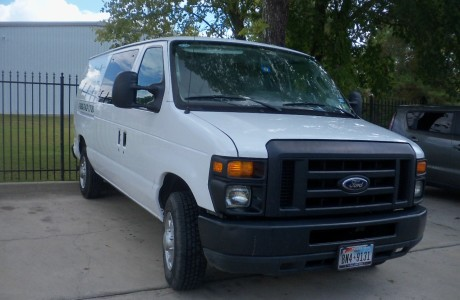 Ford Van After